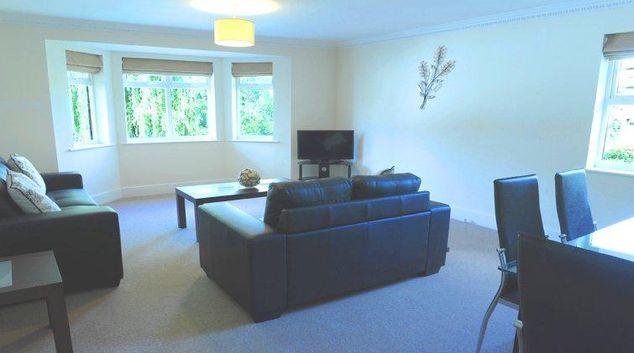Simplistic living are in Alexander La Roche Court Apartments