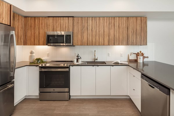 Kitchen at Cityline Apartment