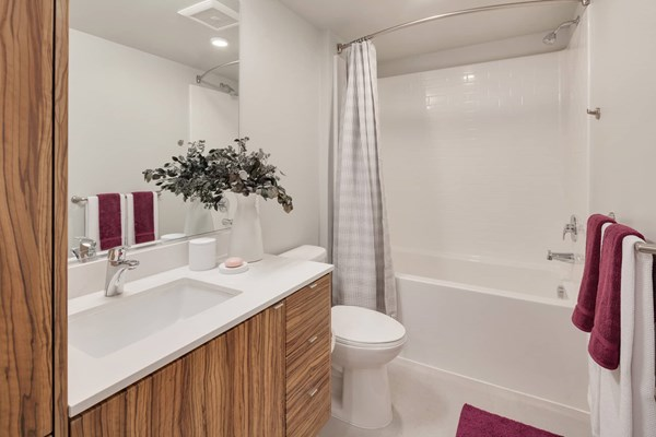 Bathroom at Cityline Apartment