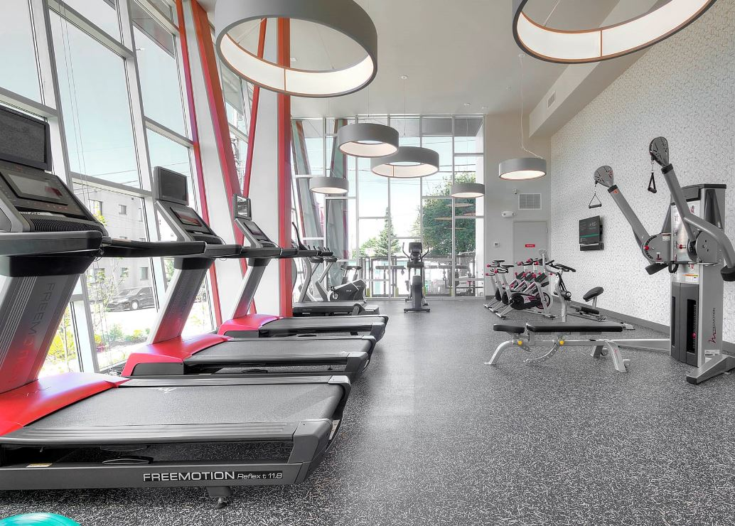 Fitness centre at Astro Apartments
