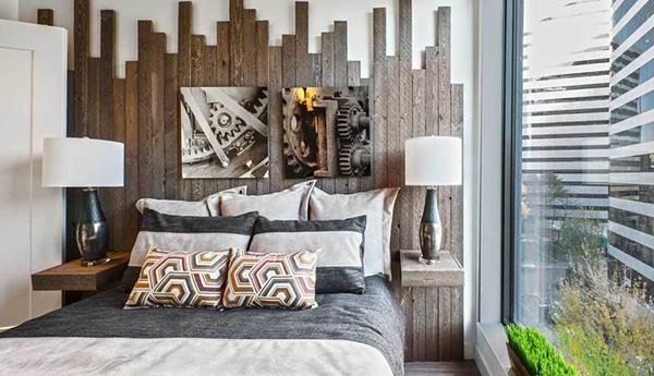 Bedroom at AMLI Arc Corporate Housing