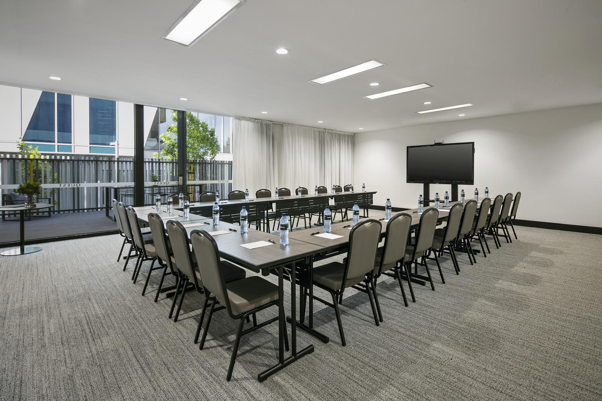 Conference room at Quest Notting Hill Apartments