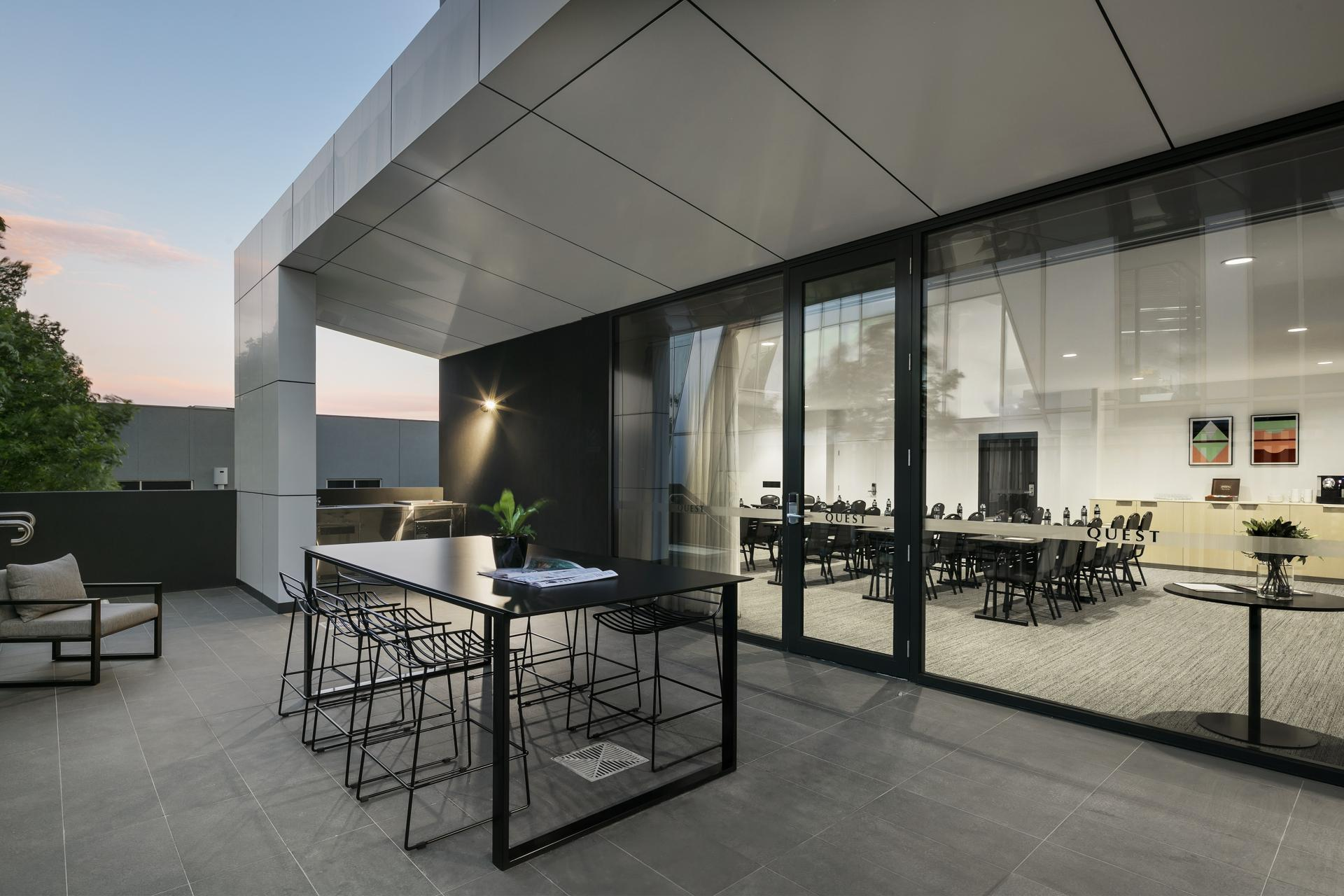 Terrace at Quest Notting Hill Apartments