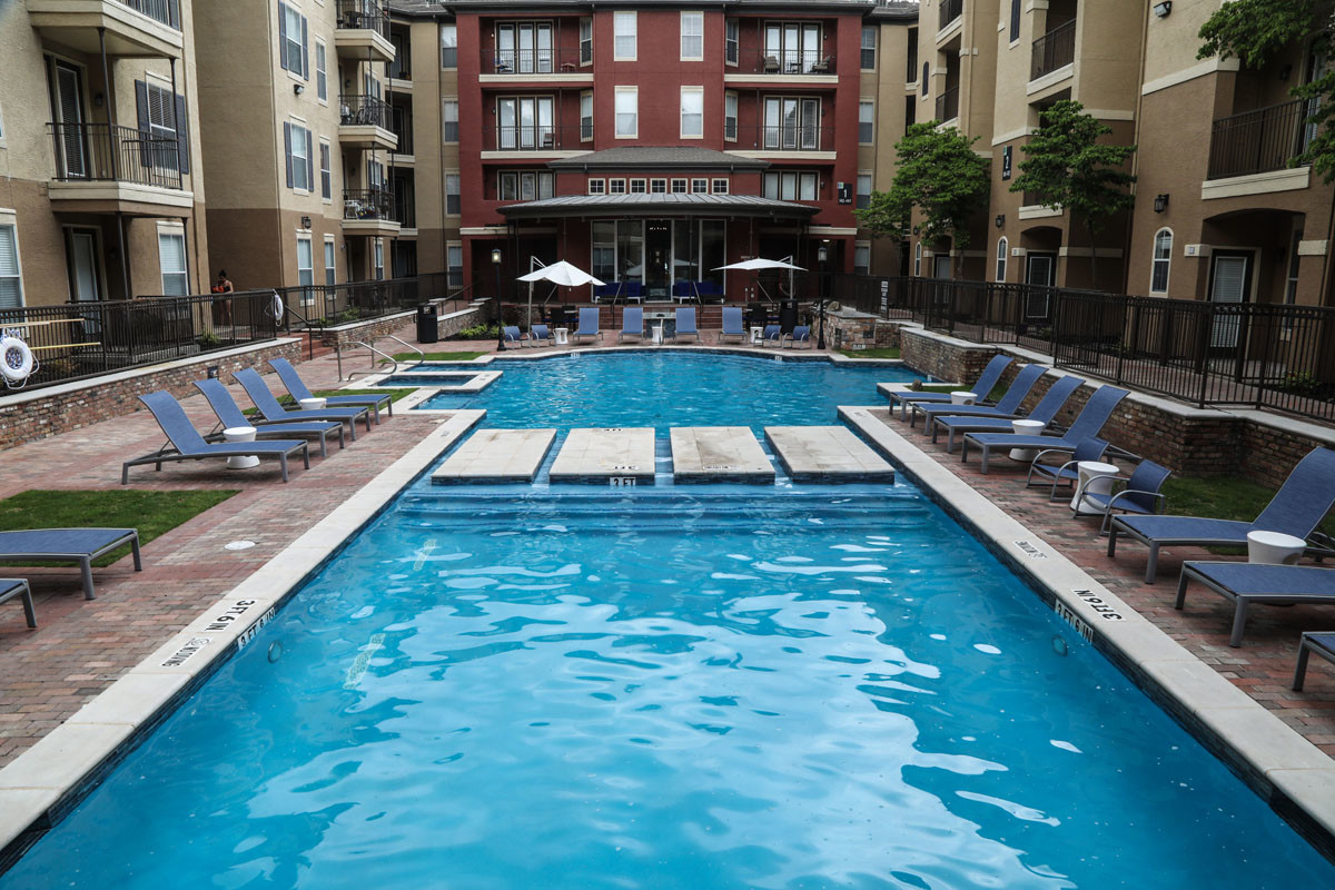 Pool at Hue at Cityplace Corporate Housing, Uptown, Dallas