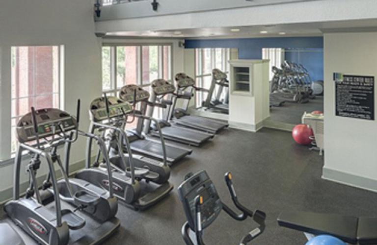 Gym at Hue at Cityplace Corporate Housing, Uptown, Dallas