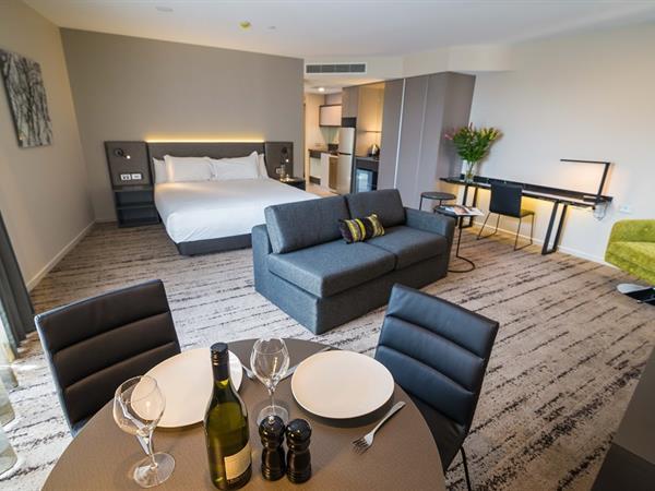 Bedroom at Swiss-Belhotel Brisbane