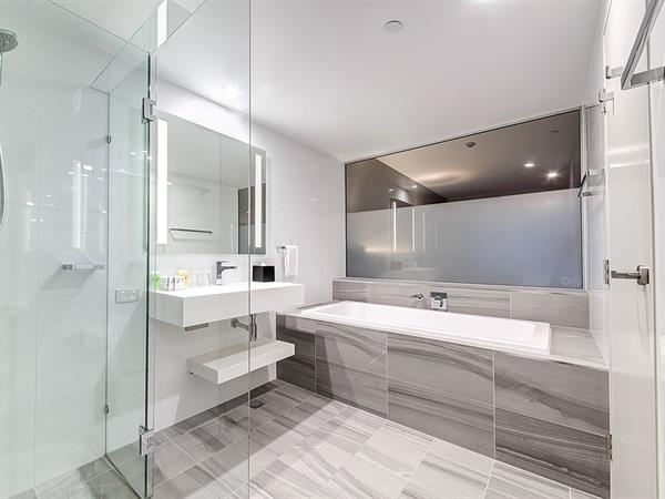 Bathroom at Swiss-Belhotel Brisbane
