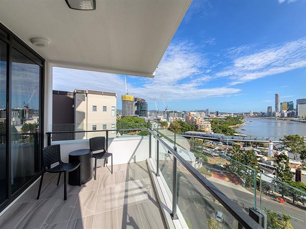 View at Swiss-Belhotel Brisbane