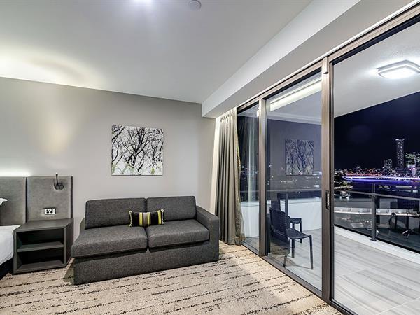 Sofa at Swiss-Belhotel Brisbane