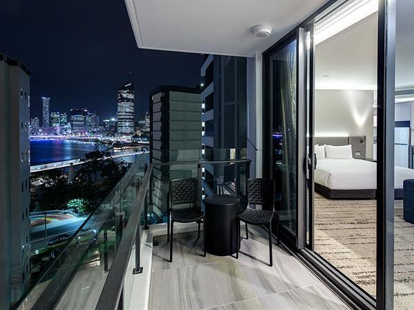 Balcony at Swiss-Belhotel Brisbane