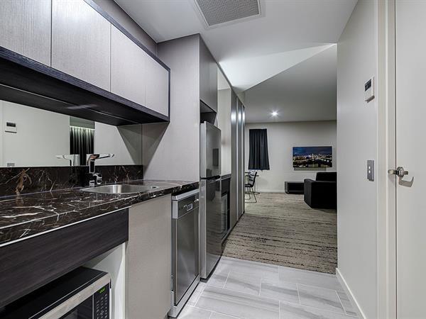Kitchen at Swiss-Belhotel Brisbane
