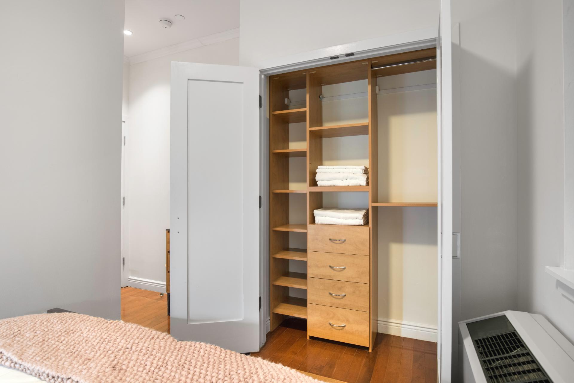 Storage at Seven Apartment
