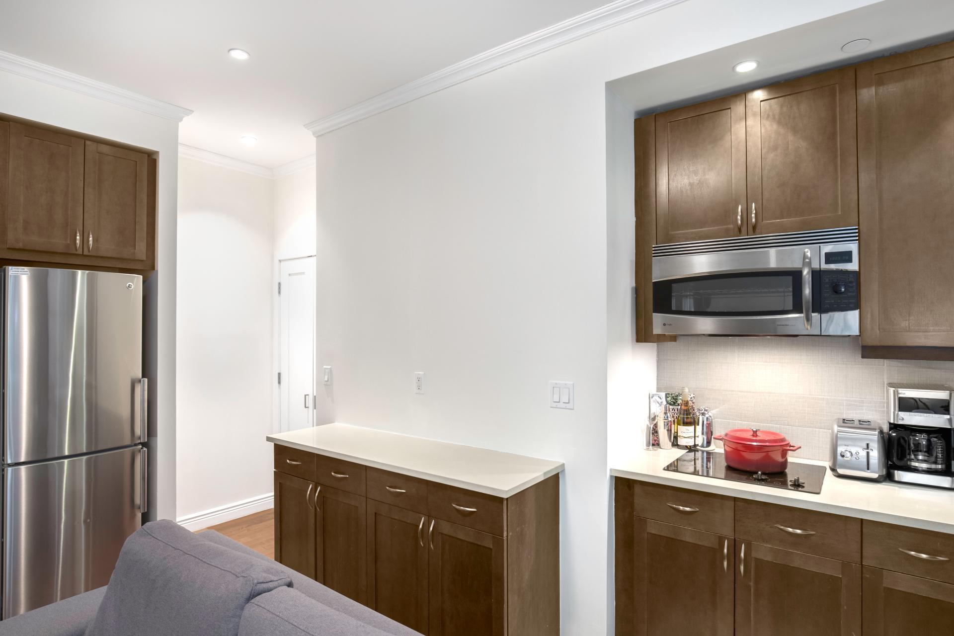 Kitchen at Seven Apartment