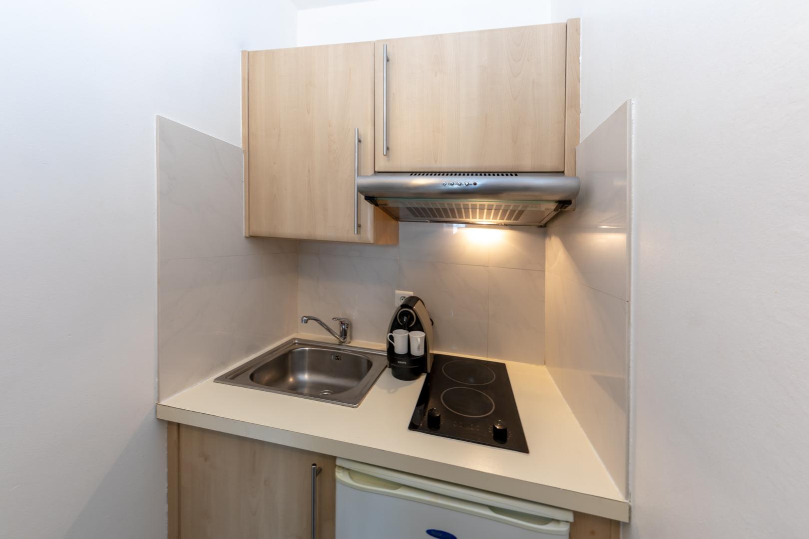 Sink at Avenue Alexandre Apartments, Juan-les-Pins, Antibes