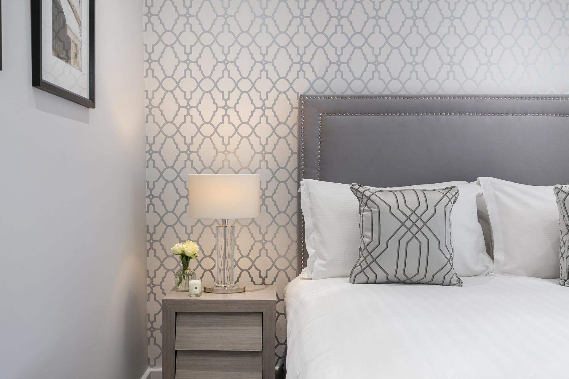 Bedroom at Chilworth Court Serviced Apartments, Paddington, London