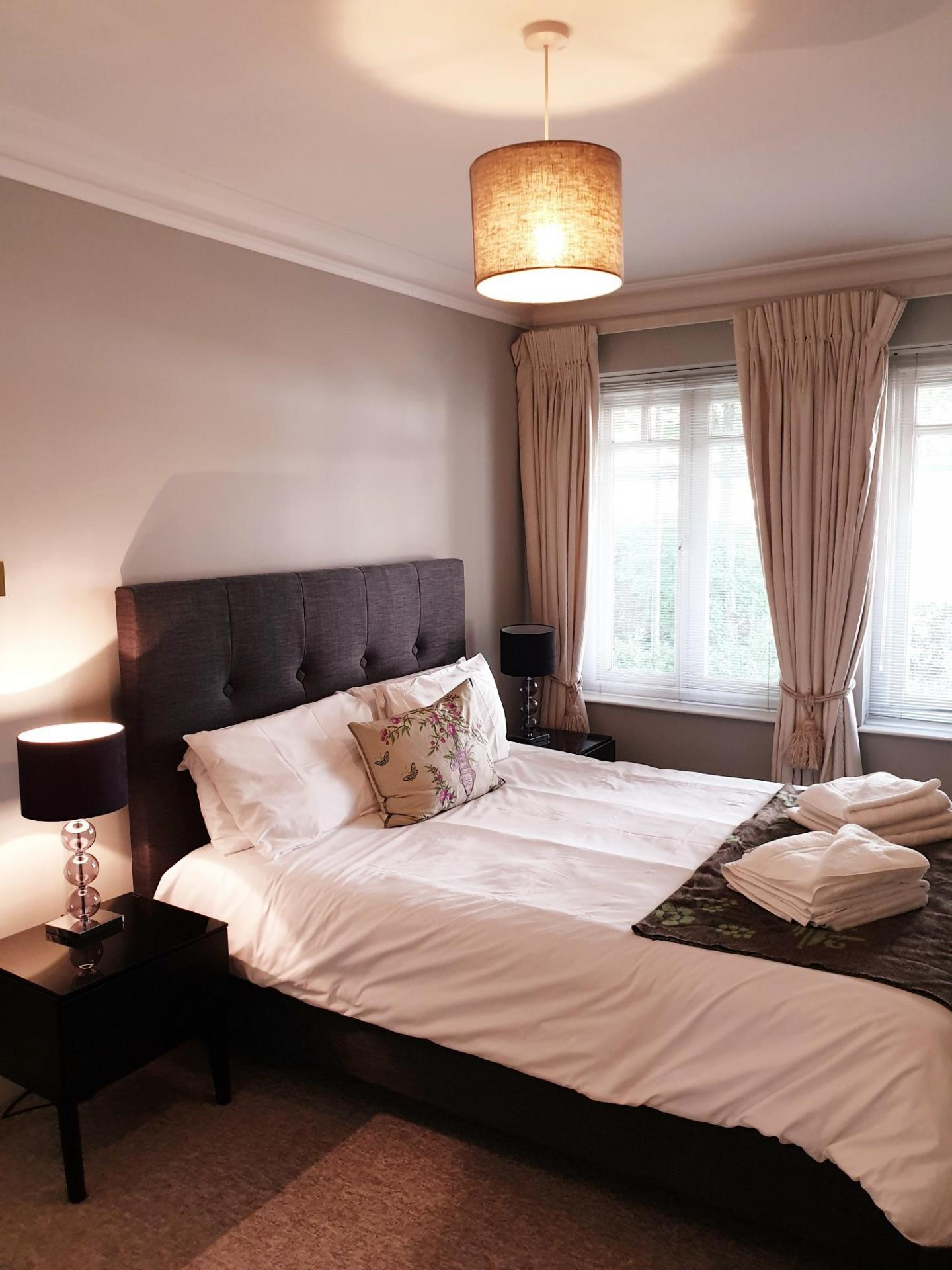 Bedding at Richmond Bridge Apartments, Richmond, London