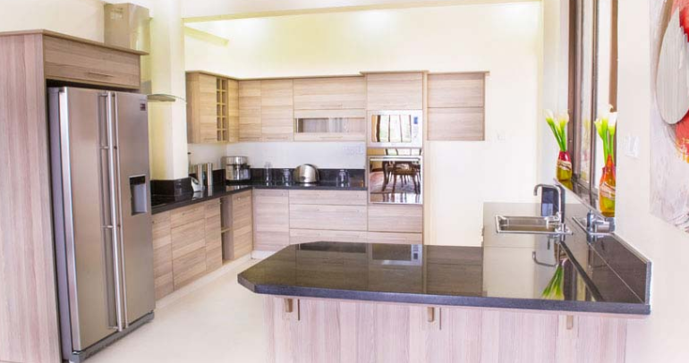 Kitchen at Riverside Apartments, Centre, Nairobi