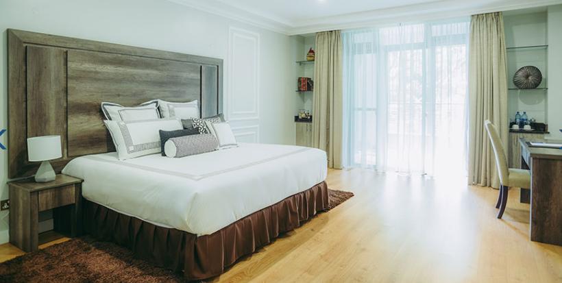 Bed at Riverside Apartments, Centre, Nairobi