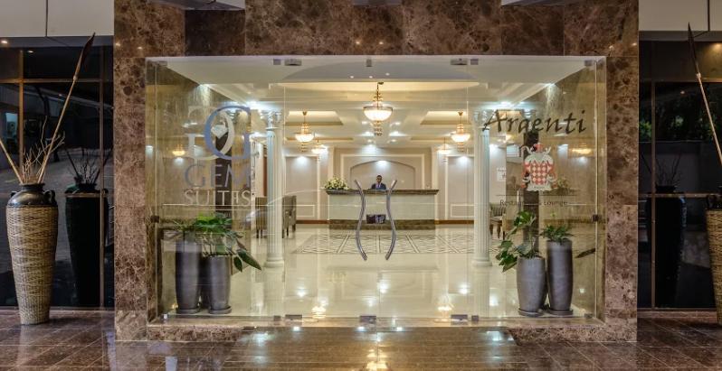 Entrance at Riverside Apartments, Centre, Nairobi