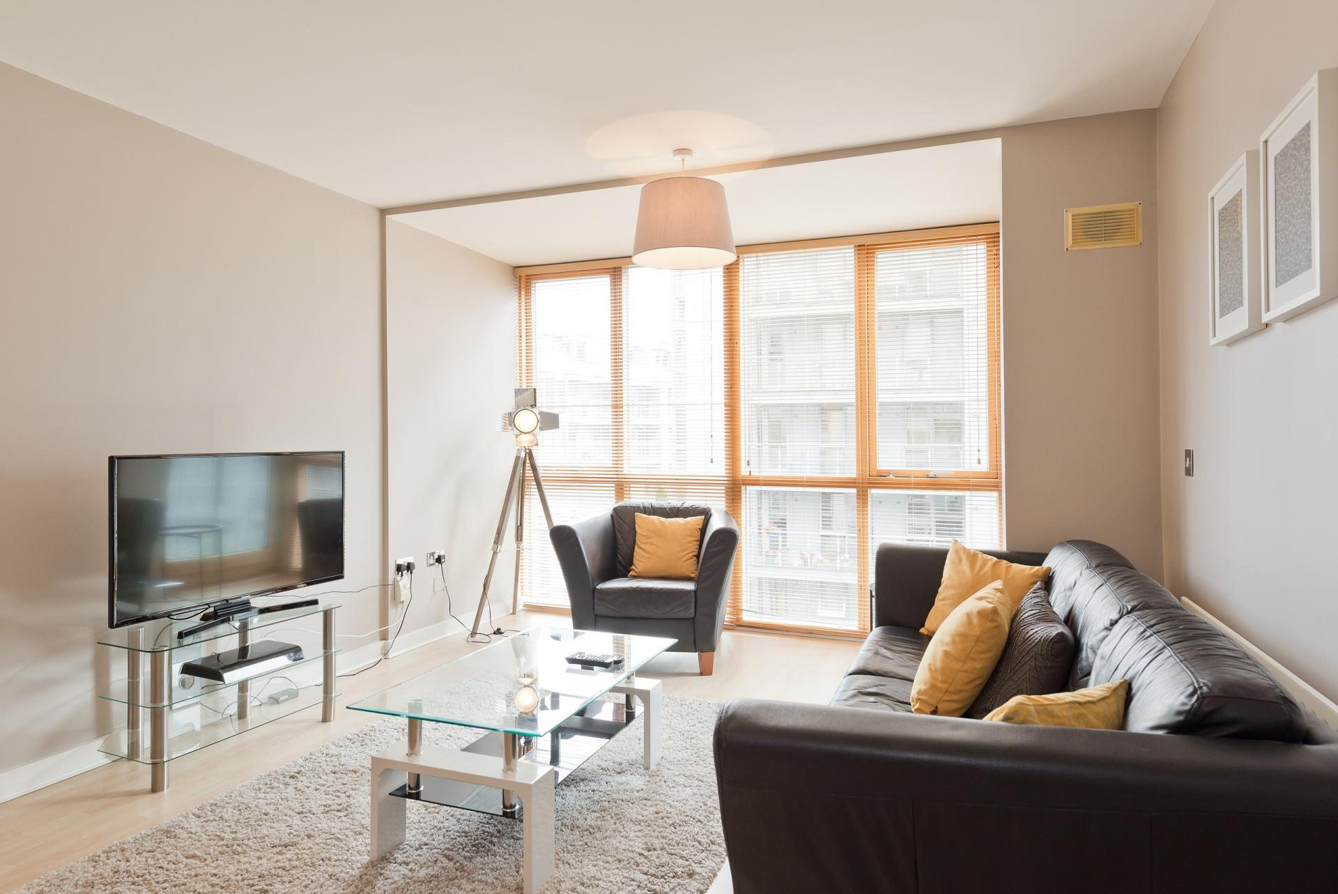 Lounge at The Gasworks Adoor Apartments