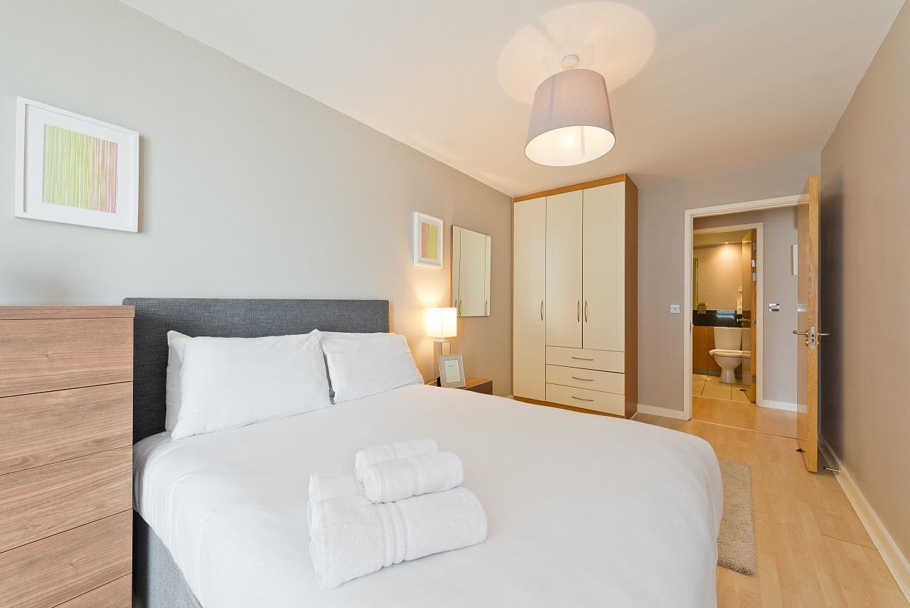 Bedroom at The Gasworks Adoor Apartments