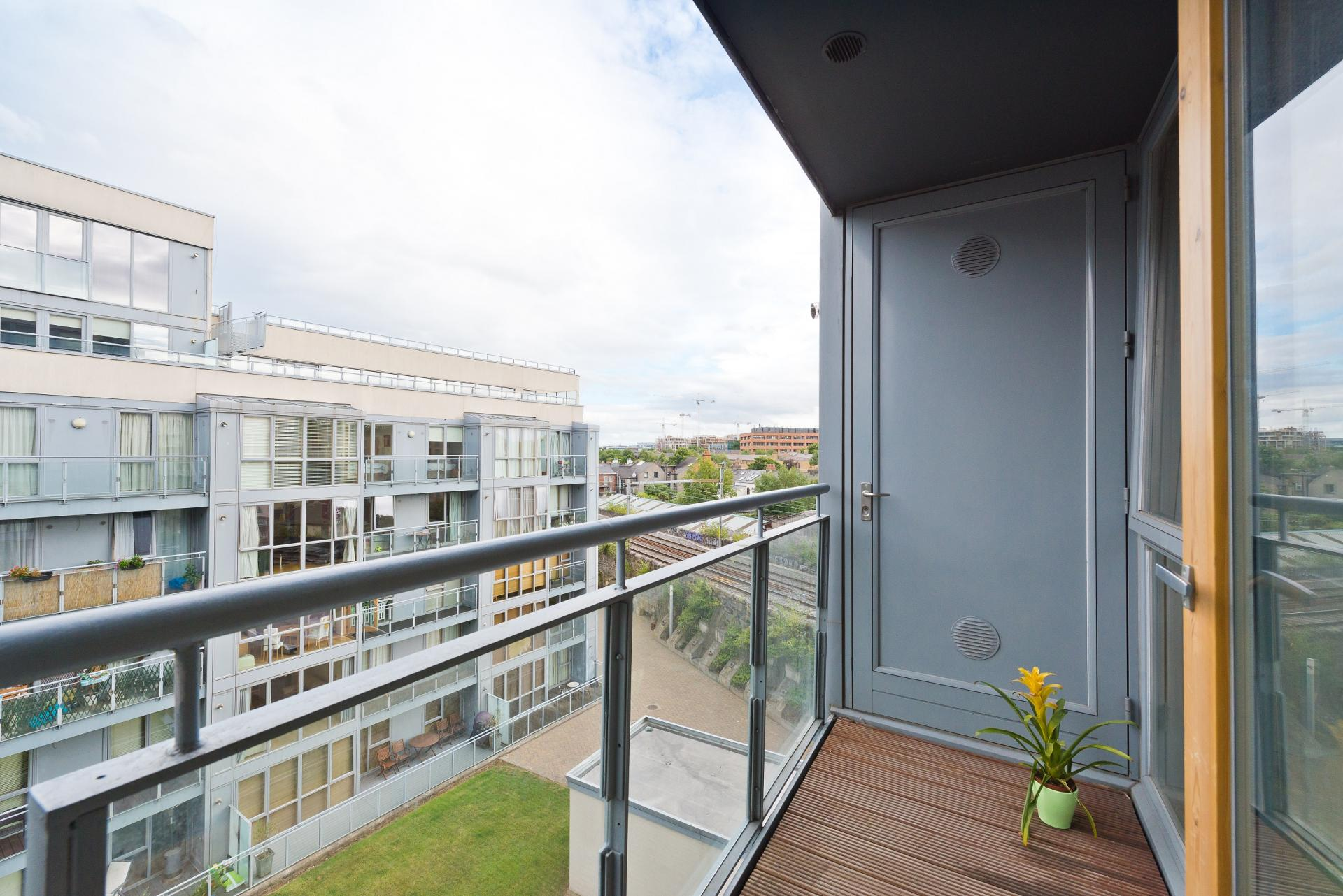 Balcony at The Gasworks Adoor Apartments