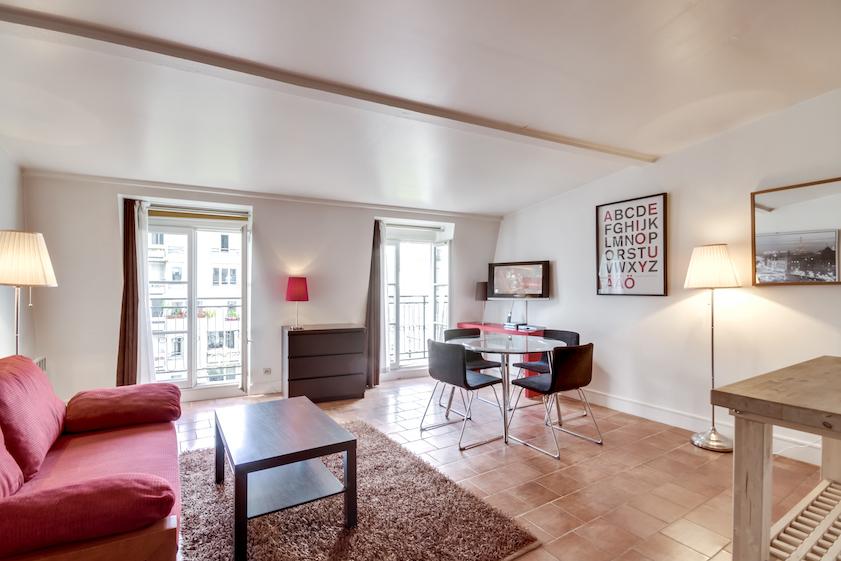 Windows at Rue Du Grenier Apartment