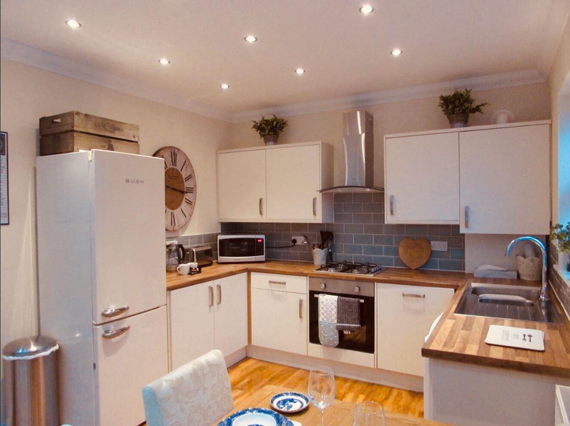 Kitchen at The Apartments at Yarm Road
