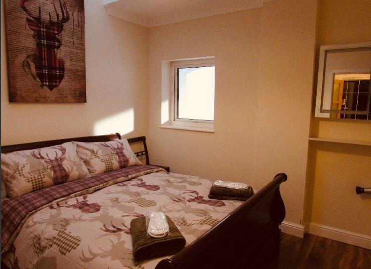 Bedroom at The Apartments at Yarm Road