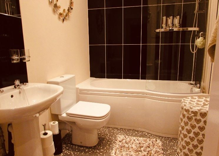 Bathroom at The Apartments at Yarm Road