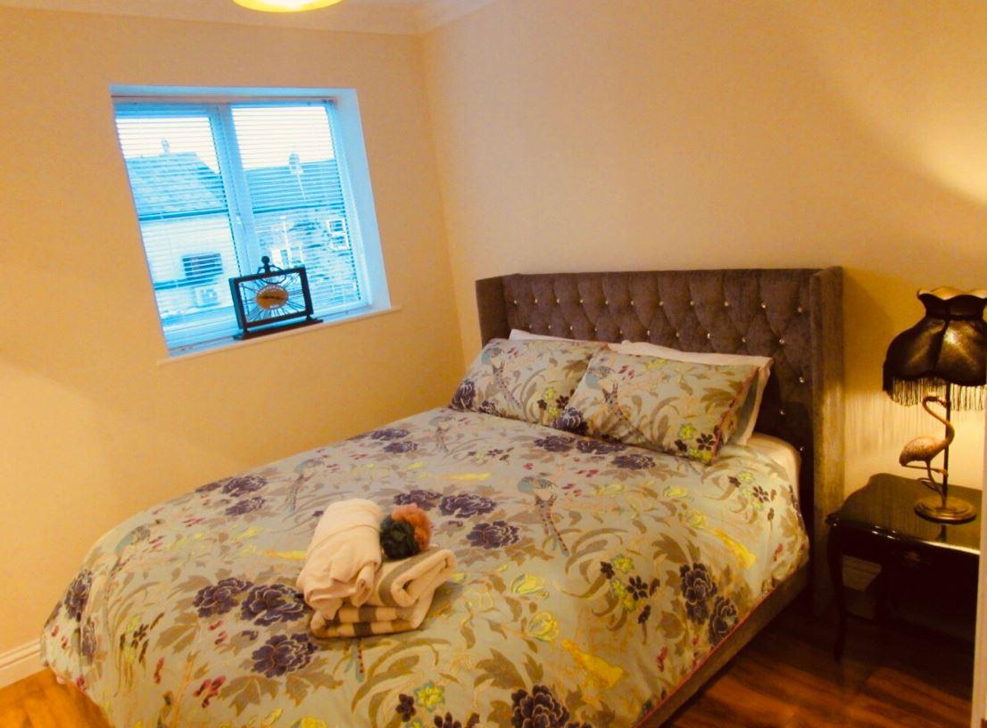 Cosy bed at The Apartments at Yarm Road