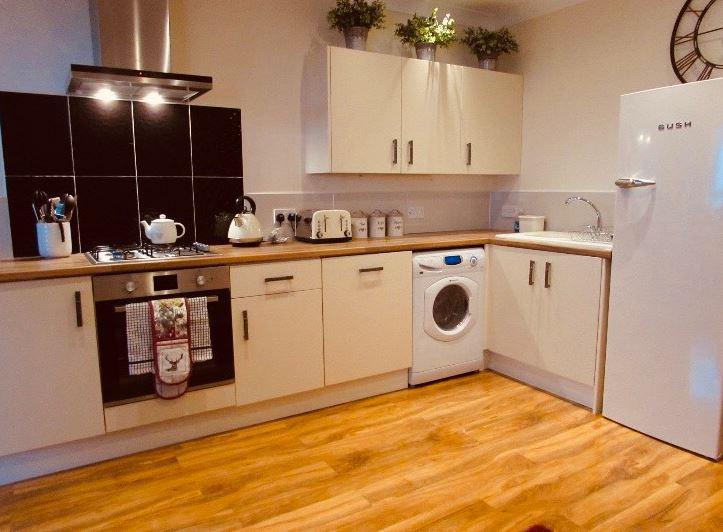 Kitchen facilities at The Apartments at Yarm Road