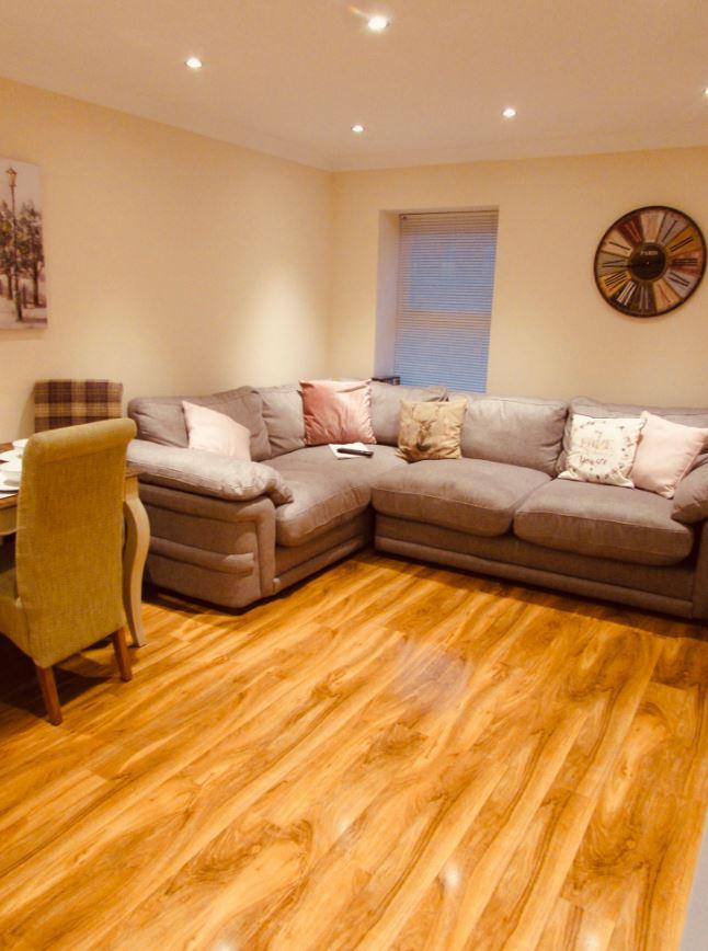 Sofa at The Apartments at Yarm Road