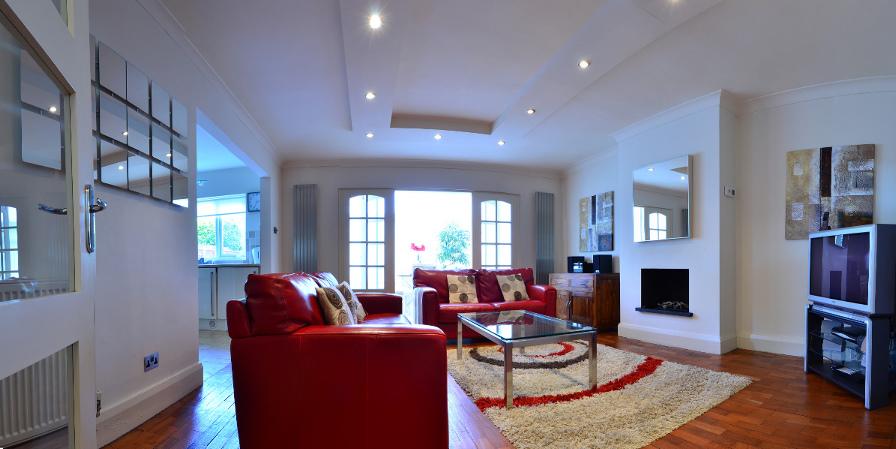 Living room at Blackfriars House