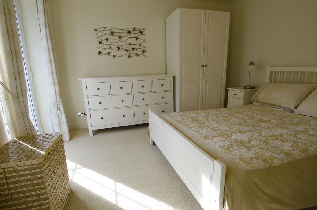 Spacious bedroom at Blackfriars House