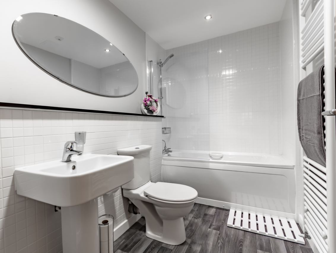 Bathroom at Albion Street Executive Apartment
