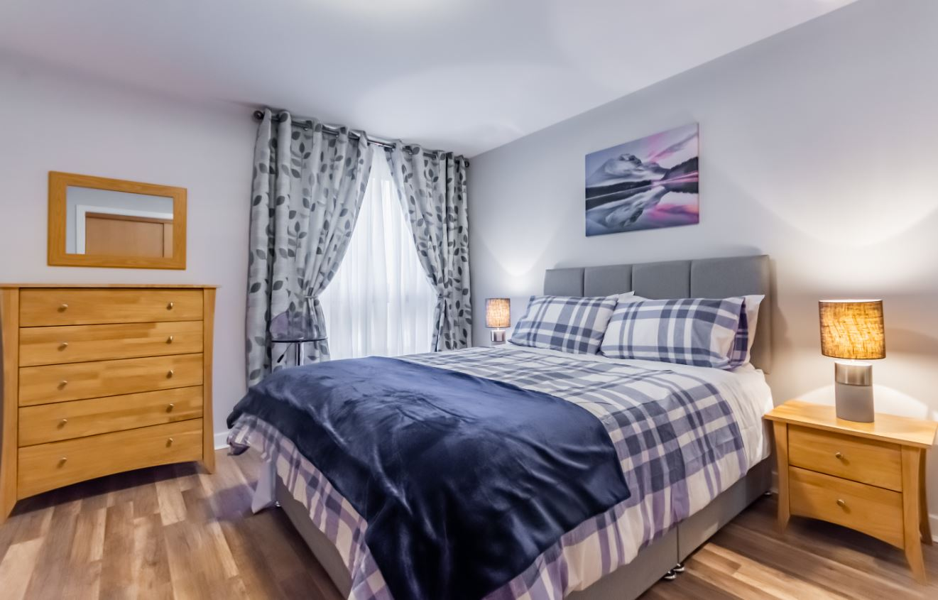 Bedroom at Albion Street Executive Apartment