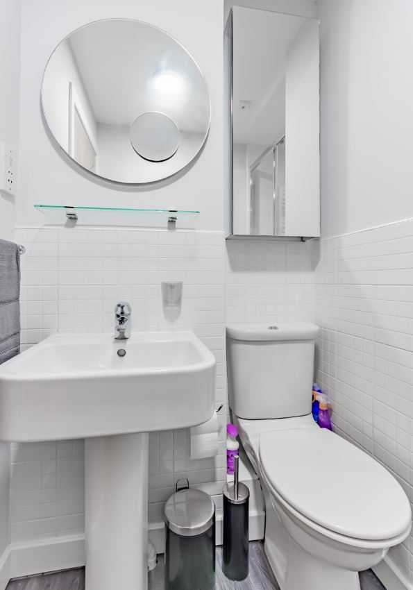 Sink at Albion Street Executive Apartment