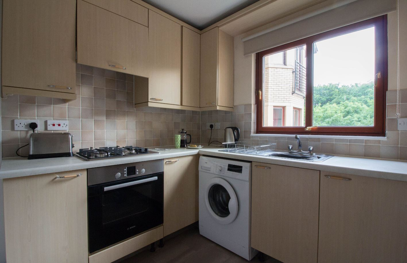 Kitchen at South Groathill Serviced Apartment