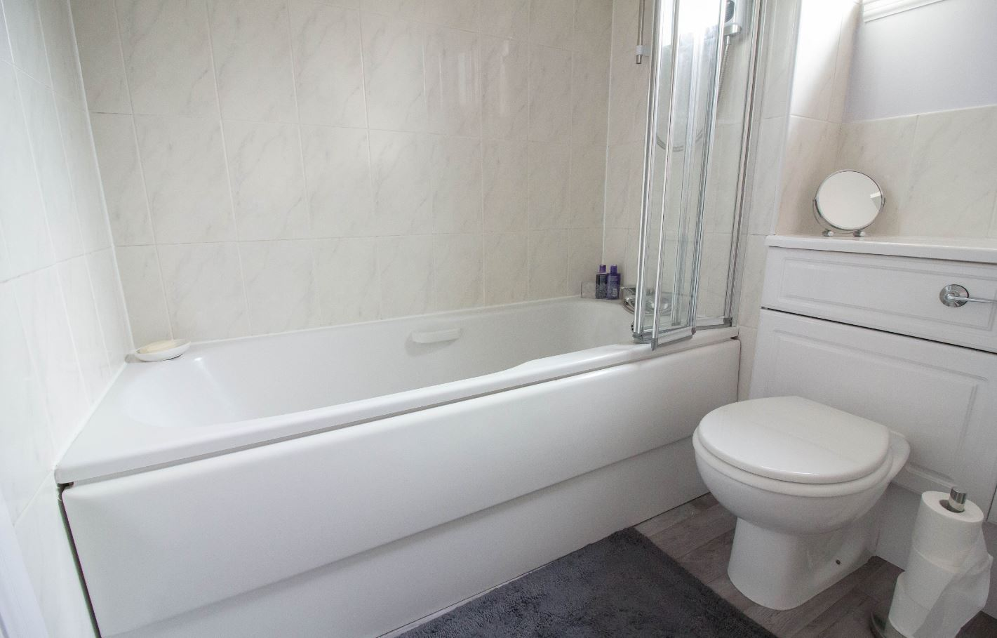Bath at South Groathill Serviced Apartment