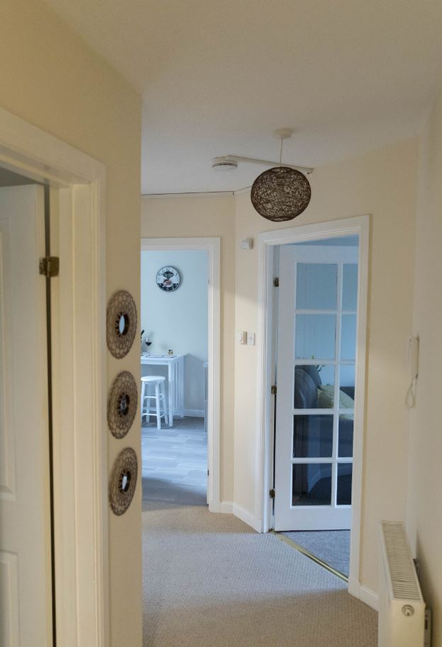 Hallway at South Groathill Serviced Apartment