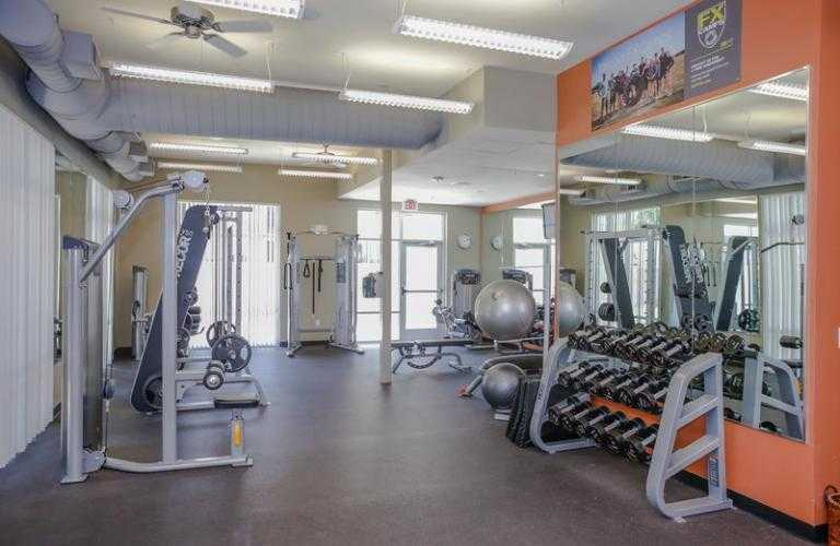 Gym at IMT at the Domain Apartment