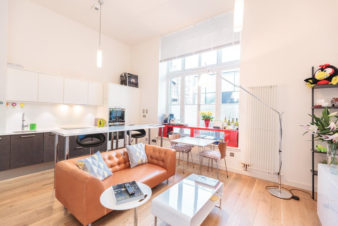 Open-plan living at Simpson Loan Apartments