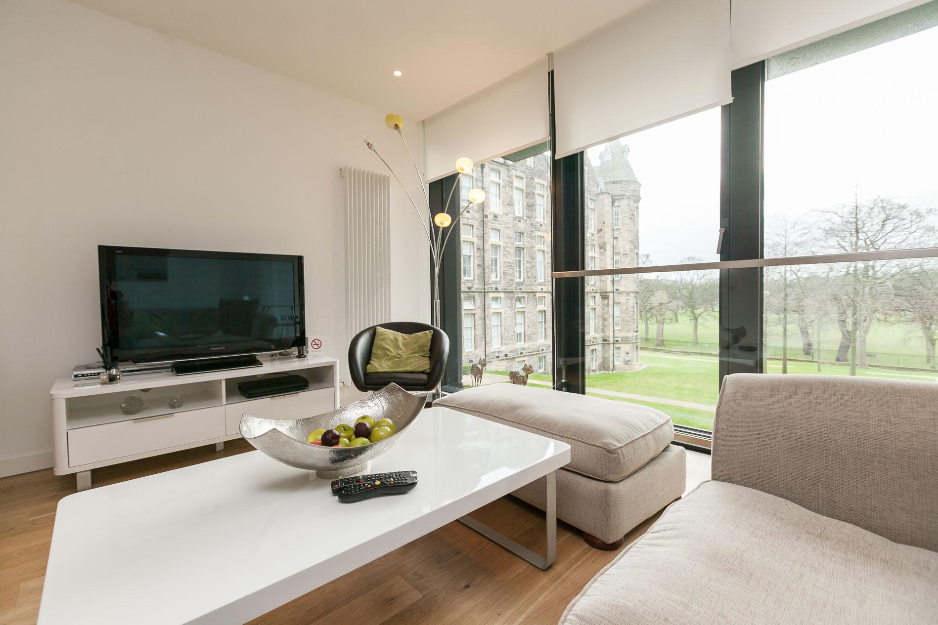 TV at Simpson Loan Apartments