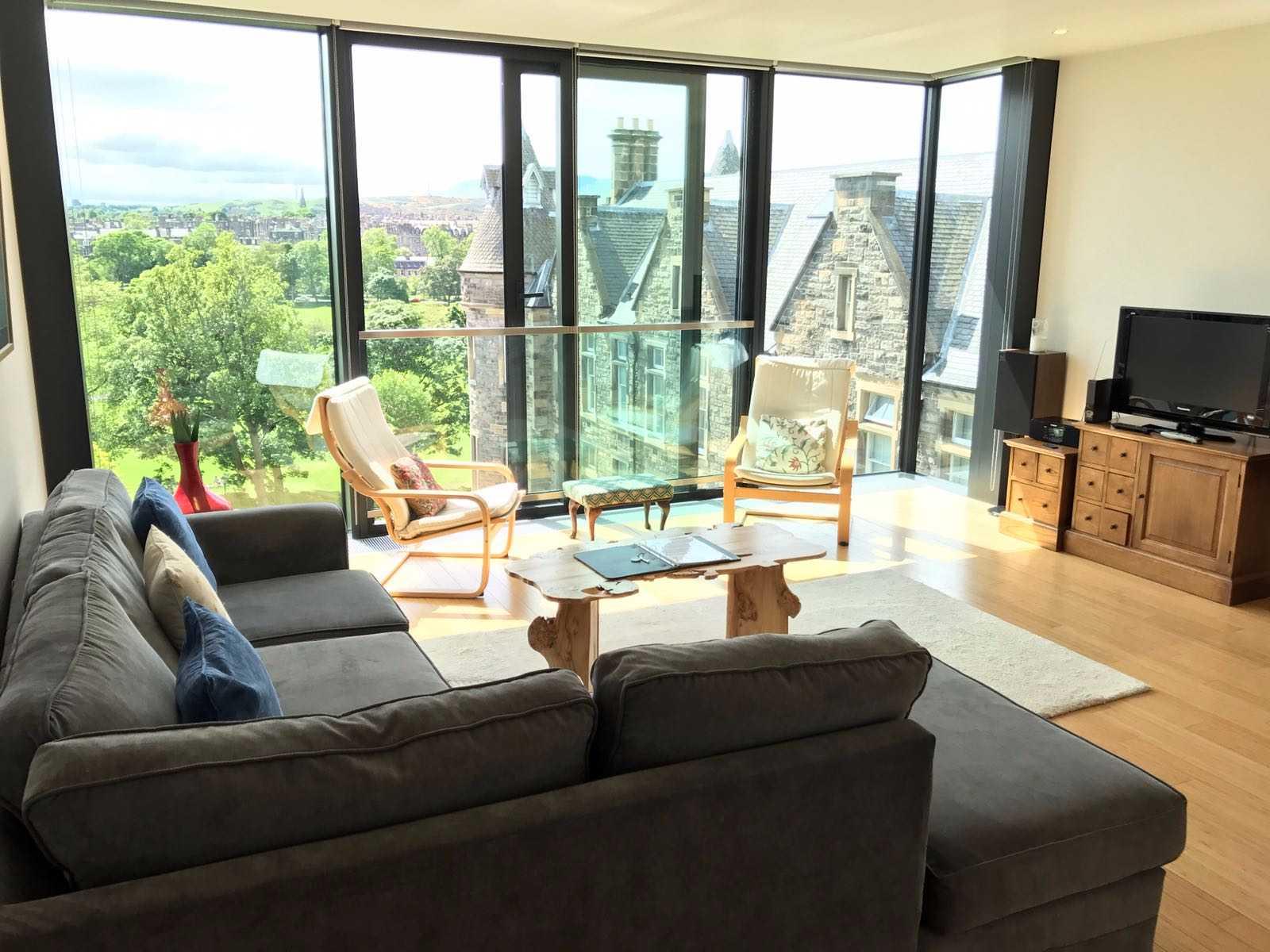 Sofa at Simpson Loan Apartments