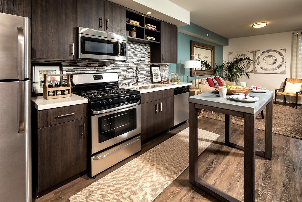 Kitchen at Avant Apartments