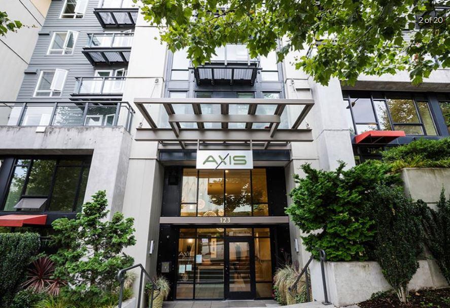 Exterior at Axis Apartment