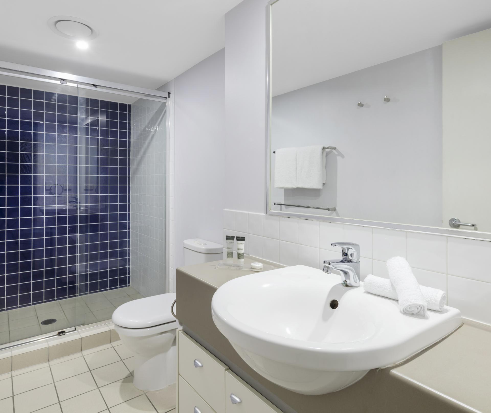 Bathroom at Oaks Brisbane Lexicon Suites