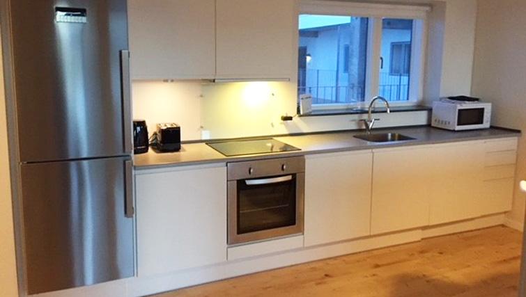 Kitchen at Brendstrupgrdsvej Apartments