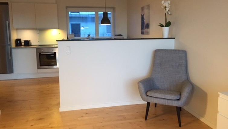 Living area at Brendstrupgrdsvej Apartments